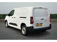 2021 Vauxhall COMBO CARGO 2300 1.5 Turbo D 100ps H1 Dynamic Van Manual Van Diese