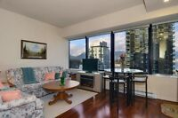 EXECUTIVE fully-furnished one bedroom in Prime Coal Harbour loca
