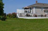private  property on Mill River PEI   (Waterfront)