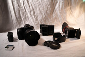 Canon 5D II professional DSLR great condition low shutter count