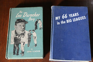 Leo Durocher Story &Connie Mack's My 66 Years in the Big Leagues