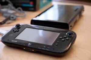Wii u + 2 pro controllers + 5 games