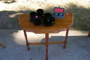 Hall Table, End Table (solid wood)