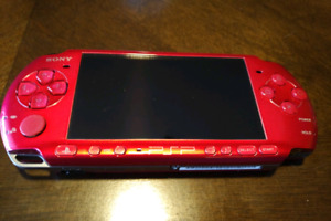 Red PSP for sale