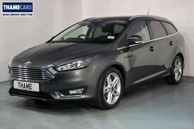 2016 Ford Focus 1.5 TDCi 120ps Titanium With Sat Nav, Upgraded Alloy Wheels and