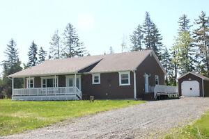 Executive bungalow on 1.2 acre landscaped lot