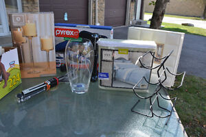 8 Home items for $100. 6 items are brand new, never used!