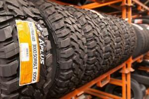 BIGGEST FLASH SALE!!! MUD TIRES AND ALL TERRAINS !!! ALL SIZES AVAILABLE. WE SHIP ALL OVER !!!