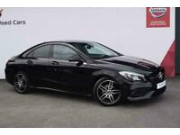2018 Mercedes-Benz CLA CLASS CLA 180 AMG Line 4dr Coupe Petrol Manual