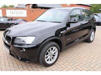 2012 62 BMW X3 2.0 XDRIVE20D SE 5D AUTO 181 BHP DIESEL