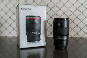 Canon 100mm Macro L series Lens