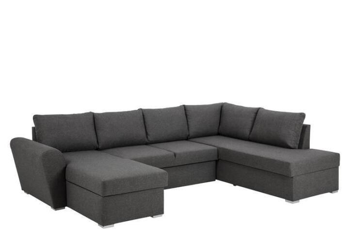 FYN Stan hoek salon slaapbank met chaise longue links en opb