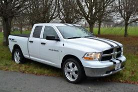 Dodge RAM 1500 4.7L V8 AUTO DOUBLE CAB 4X4, NEW SHAPE, NEW MOT, 33K MILES