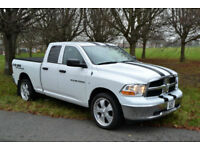 Dodge RAM 1500 4.7L V8 AUTO DOUBLE CAB 4X4, NEW SHAPE, NEW MOT, 33K MILES