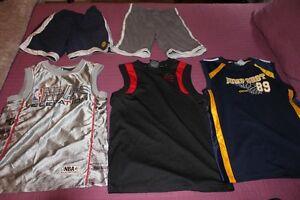 NBA jerseys (blue one is CCM)