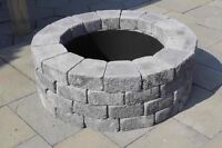 Truck rims perfect for outdoor fire pit