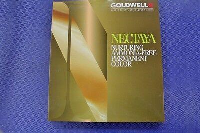 Goldwell Farbkarte für Nectaya Haarfarbe