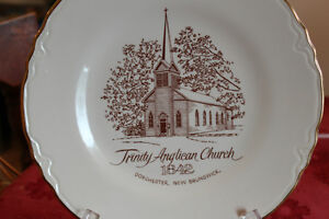 Plate - Trinity Anglican Church - Dorchester NB