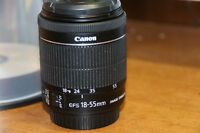 Objectif Canon 18-55mm STM