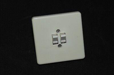 Old Bakelite Switch Flush Mounted Series Switch Art Deco Loft Light Switch