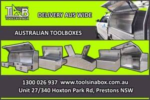 Aluminium Toolboxes  -  HUGE showroom located in PRESTONS! NSW Warwick Farm Liverpool Area Preview