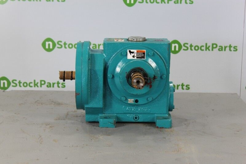 Linkbelt Mwh851b72 Nsnb - Right Angle Gear Reducer 72:1 Ratio 24 Rpm 2 Hp