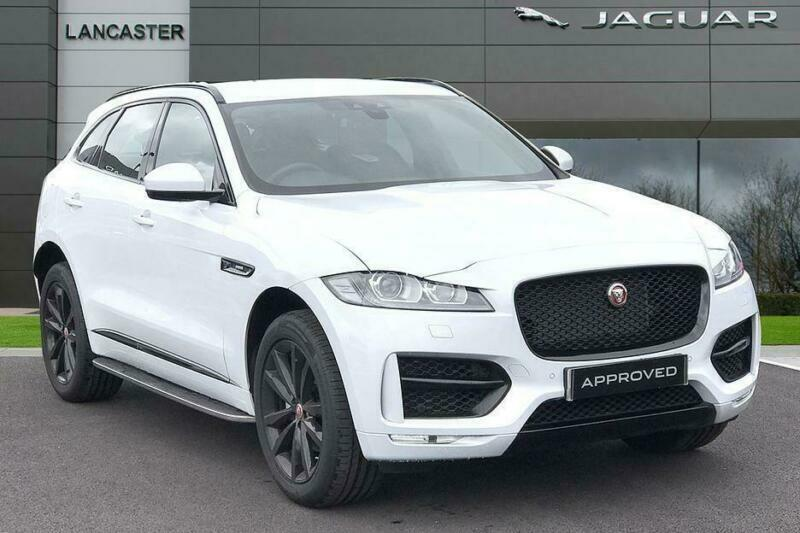 2019 Jaguar F Pace I R Sport Awd Petrol White Automatic In Wolverhampton West Midlands Gumtree