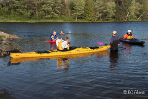 Sea Kayak Rolling Clinic August 3 Shortts Lake  Truro Area