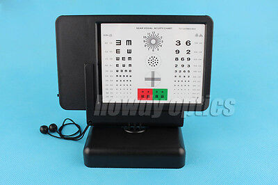 Brand New Multifunction Optometry Near Visual Acuity Chart Near Vision Tester