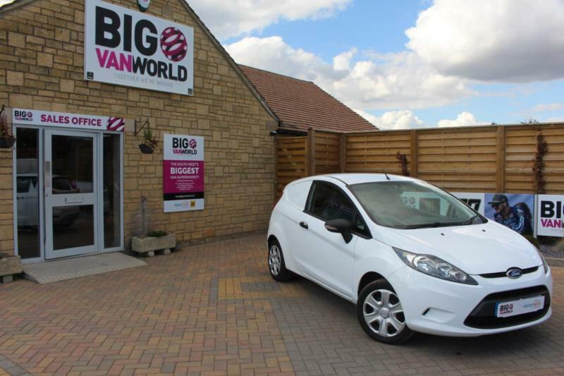 2012 FORD FIESTA 1.4 TDCI 70 PANEL VAN
