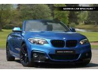 2016 BMW 218I M SPORT ** PERFORMANCE STYLING ** Convertible Petrol Manual