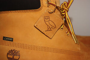 OVO x TIMBERLANDS 6-INCH BOOT WHEAT NEVER WORN SIZE 11.5