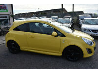Vauxhall Corsa 1.3CDTi 16v ( 75ps ) Limited Edition ( a/c ) ecoFLEX 2 +YELLOW+