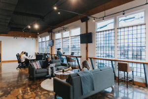 Co-Working and Private Office Space Available!