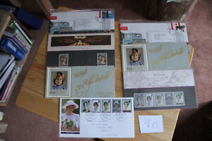 British Stamps -Princess Diana/Prince Andrew & Fergi Stamps