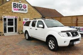 2014 NISSAN NAVARA DCI 190 TEKNA CONNECT 4X4 DOUBLE CAB WITH TRUCKMAN TOP PICK U