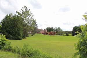 Amazing Countryside Home with a beautiful landscape & huge lot