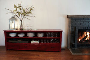 Reclaimed Wood Sideboard. By LIKEN Woodworks