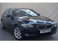 2010 60 BMW 5 SERIES 3.0 530D SE 4D AUTO 242 BHP DIESEL *DEALER SERVICED*