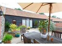 Two bedroomed barn conversion fully furnished all bills included