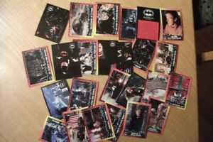 Lot 25 cartes Batman Returns OPC  1992 NEUF  ( MO-1327)