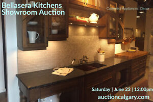 KITCHEN CABINET SHOWROOM AUCTION THIS SATURDAY