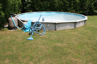 Free give-a-way 21' steel pool