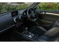 2016 Audi A3 1.4 TFSI S Line 3dr Hatchback Petrol Manual