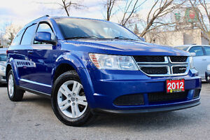 2012 DODGE JOURNEY SE PLUS  7 SEATER - ACCIDENT FREE - CERTIFIED