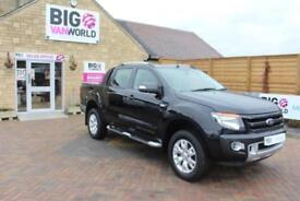 2015 FORD RANGER WILDTRAK 4X4 TDCI 200 BHP DOUBLE CAB PICK UP DIESEL