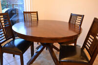 Dining Table and 4 Chairs - good condition