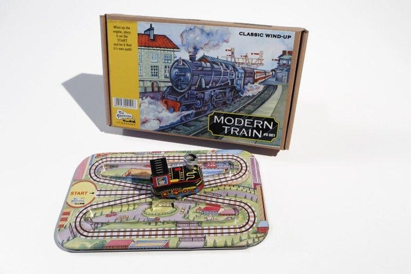 Blechspielzeug KLEINE EISENBAHN Technofix Kopie Tin Toy
