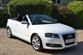 Audi A3 Cabriolet 1.6TDI 105ps 2013 Sport, 32K MILES, FULL AUDI HISTORY, 2 OWNER