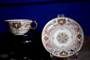 King Louis Philippe Dated 1846 'Hunters Service' Cup and Saucer